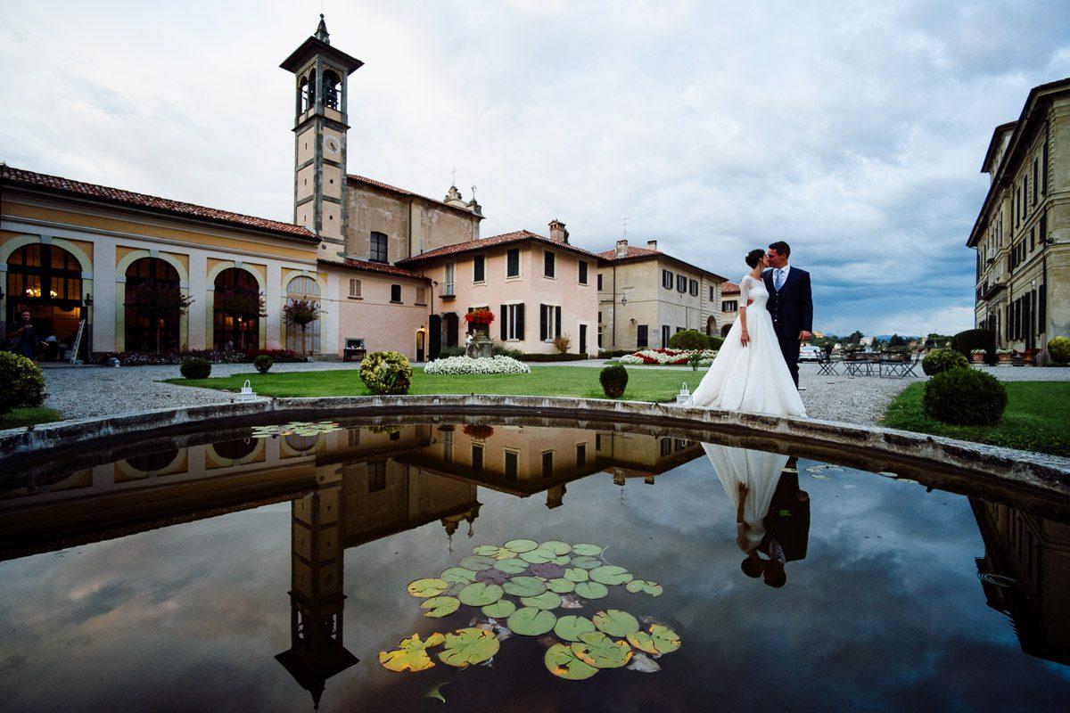 matrimonio villa perego inverigo riflesso fontana